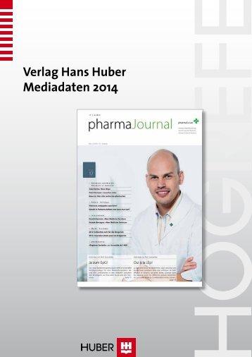 Verlag Hans Huber Mediadaten 2014 - pharmaSuisse