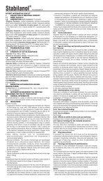 Stabilanol® - Pharmathen