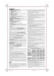 Ladinin common.p65 - Pharmathen