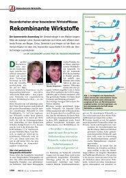 Rekombinante Wirkstoffe - Pharmazie - Goethe-Universität