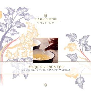 Verjüngungs-Tee Broschüre - Pharmos Natur