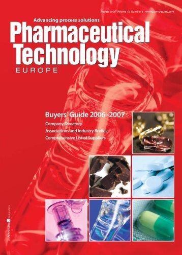 Buyers' Guide 2006–2007 - Pharmaceutical Technology