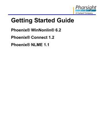 Phoenix_1.2_Getting_.. - Pharsight Corporation