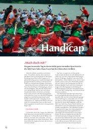 Handicap - DJK Sportverband