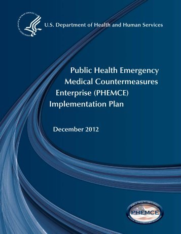 2012 HHS PHEMCE Implementation Plan - PHE Home
