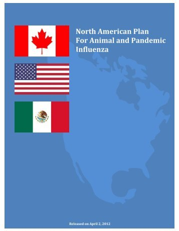 North American Plan For Animal and Pandemic Influenza - PHE Home