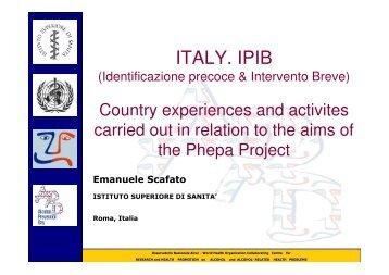 ITALY. IPIB - PHEPA