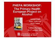 Phepa Workshop Lisbon