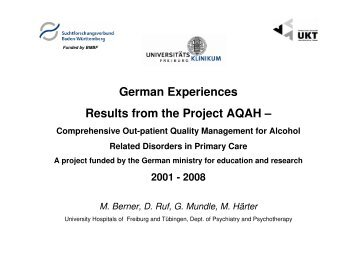 H - Research Project Germany Michael Berner - PHEPA