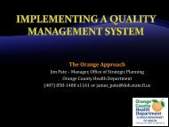 Implementing a Quality Management System - Public Health ...