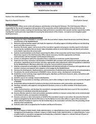 NALBOH CEO Position Description - Public Health Foundation