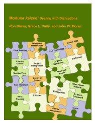 Table of Contents Modular kaizen - Public Health Foundation