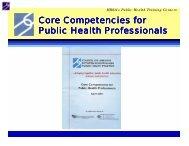 Introduction - Public Health Foundation