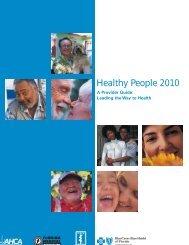 Healthy People 2010 - Public Health Foundation