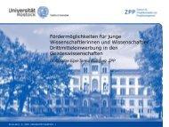 Drittmitteleinwerbung in den Geisteswissenschaften - EU-Förderung