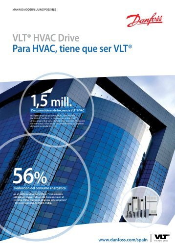 Dimensiones VLT® HVAC Drive - Danfoss