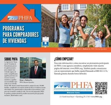 PHFA Programas Para Compradores De Viviendas (Programs for ...