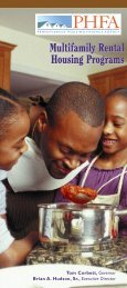 PHFA: Multifamily Rental Housing Programs - Pennsylvania ...