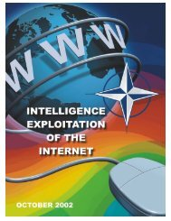 NATO Intelligence Exploitation of the Internet - The Air University