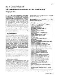Die Ifo-Literaturdatenbank