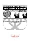 Prague Semiotic Stage Revisited ~ Semiosis biohazard strike eminent - Page 3