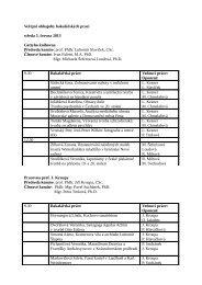 Veřejné obhajoby bakalářských prací středa 5. června 2013 Gettyho ...