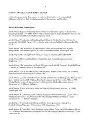 Schriftenverzeichnis Prof Dr Jens E Olesen - Ernst-Moritz-Arndt ...