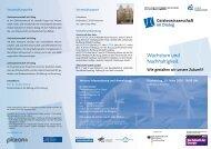 Wachstum und Nachhaltigkeit. - Leibniz Universität Hannover
