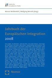 Jahrbuch der Europäischen Integration 2008