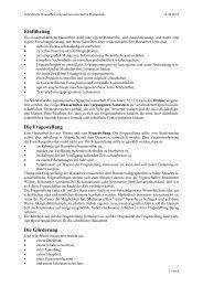 Einführung Die Fragestellung Die Gliederung - Universität Würzburg