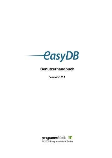 EasyDB Dokumentation