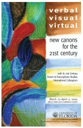new canons for the 21st century verbal visual virtual - News and ...