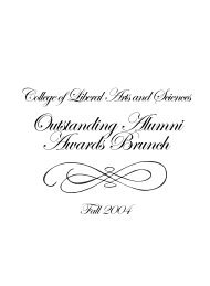 Outstanding Alumni Awards Brunch - News and Publications ...