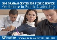 Certificate in Public Leadership - Clas News and Publications
