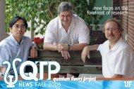 QTP - 2006 - Clas News and Publications - University of Florida