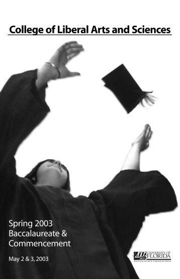 Spring 2003 Program copy - News and Publications - University of ...