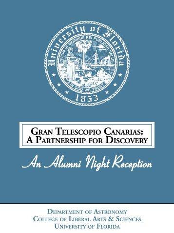GRAv TELESCOPIO CAvARIAS - Clas News and Publications ...