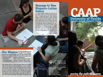 CAAP - 2006 - Clas News and Publications - University of Florida
