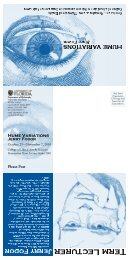 Hume Variations Jerry Fodor - Clas News and Publications