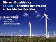 Nielsen BuzzMetrics ESADE – Energías Renovables en los Medios ...