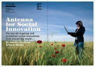 Antenna for Social Innovation - Esade