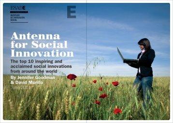 Antenna for Social Innovation - Esade