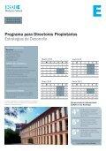 Programa para Directores Propietarios Estrategias de ... - Esade - Page 2