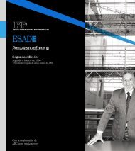 Segunda edición - Esade