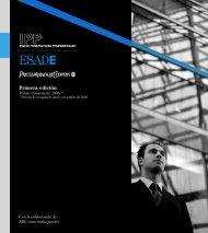 Primera edición - Esade