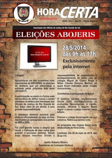 Revista Hora Certa Eleições 2014