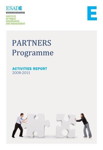 PARTNERS Programme - Esade