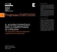 El AcuErdo EstrAtégico pArA lA compEtitividAd dE cAtAlunyA - Esade