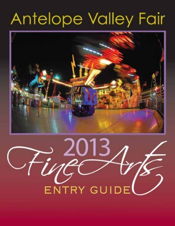 Fine Arts - the Antelope Valley Fair