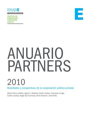 AnuARio PARTnERS 2010 - Esade